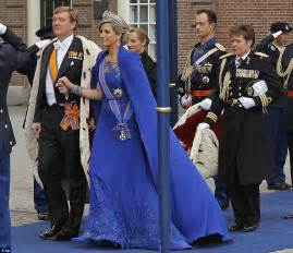 So what exactly does one wear to an inauguration european royals give