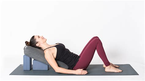 Reclined Position by Prenatal 5 Psoas Releasing Poses To Relieve Low