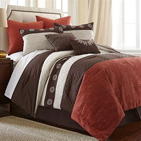 rust bedding rust colored comforters and bedding sets