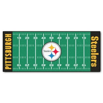fanmats pittsburgh steelers 2 ft 6 in x 6 ft football