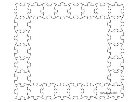 cornici per quaderni scuola primaria puzzle cornicette bordi per copertine