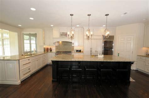 cream kitchen dark island quicua com off white cabinets with dark island same as our kitchen