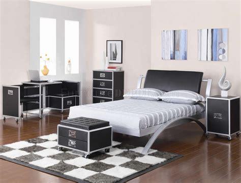 black silver  tone finish modern kids bedroom woptions