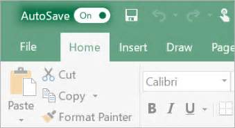 what is autosave office support