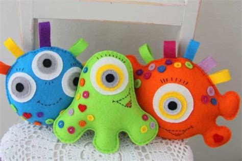 Handmade Toys For Babies - developmental toys for baby sewing crafts