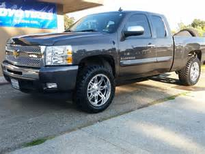 Tires And Rims For Chevy Silverado 2010 Chevy Silverado 1500 20x10 Fuel Rims Fuel Road