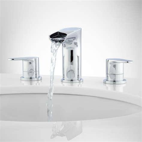 pagosa widespread waterfall faucet bathroom