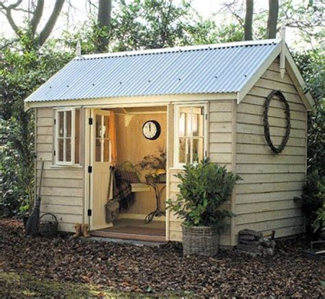 a peaceful backyard studio provides inspiration for the refurbished tool shed at the bottom of virginia woolf