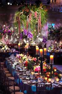 Backyard Wedding Reception Decorations Colorful Ballroom Wedding In Chicago With Quot Enchanted