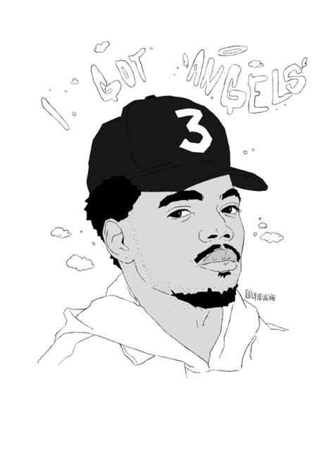 coloring book chance the rapper finish line chance the rapper on