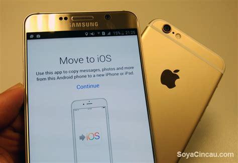 move from android to ios apple vă va ajuta să treceți de la iphone la android printr o aplicație noutati tehnologie