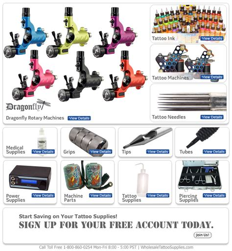 tattoo equipment and supplies wholesale supplies professional supplies at