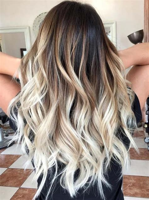 balayage color 24 beautiful balayage bombre and ombre hair color trends