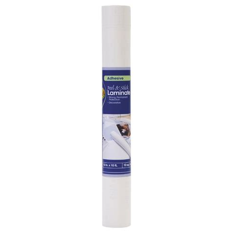 Lowes Shelf Liner by Duck Covers 10 Ft X 12 In White Peel And Stick Adhesive