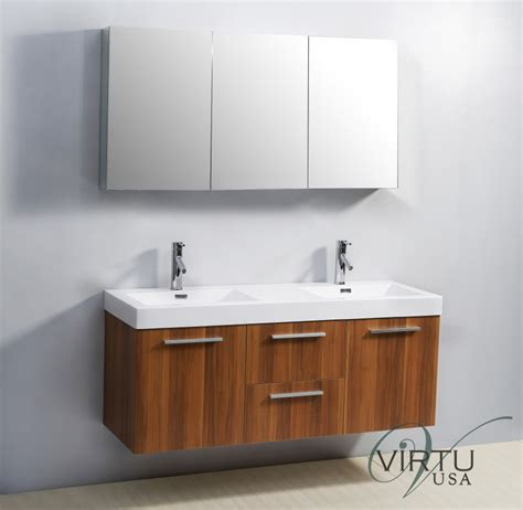 54 inch sink bathroom vanity with blum hinges