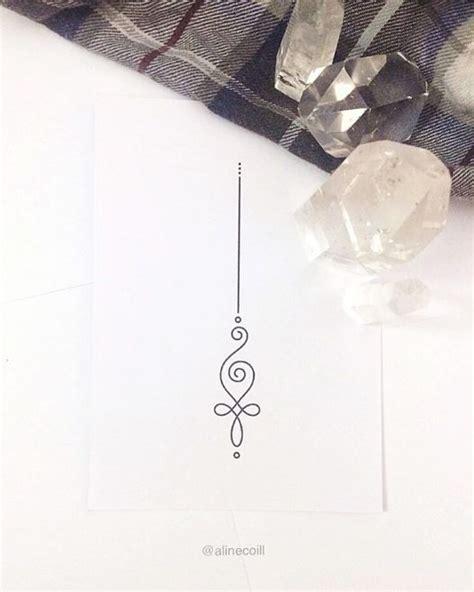 simple unalome tattoo 25 best ideas about simple wrist tattoos on pinterest