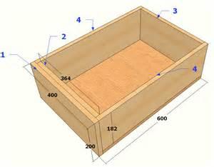 fabriquer un tiroir coulissant en bois
