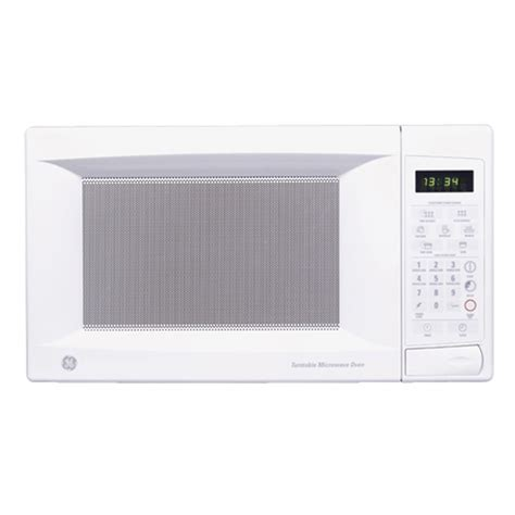 shop ge 174 1 3 cu ft countertop microwave oven color