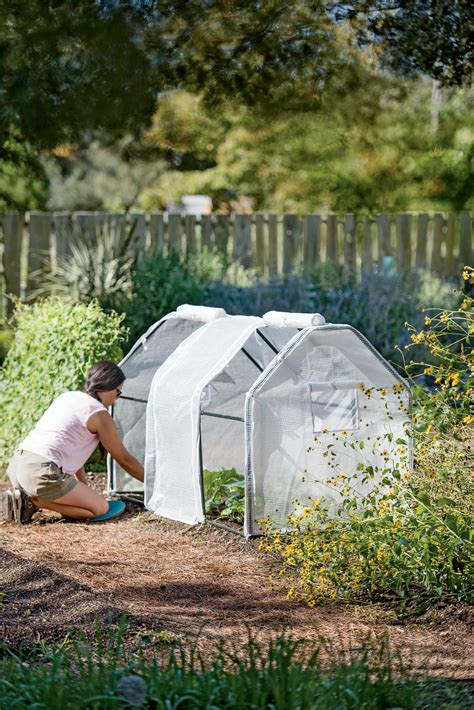 garden protection tent  tunnel hoop house kit