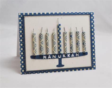 Handmade Hanukkah Cards - hanukkah menorah cards