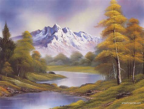 bob ross painting gallery bob ross mountain painting wallpaper
