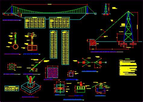 cross air  hanging pipes dwg detail  autocad
