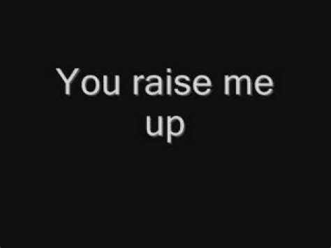Raise Me Up Letra westlife you raise me up