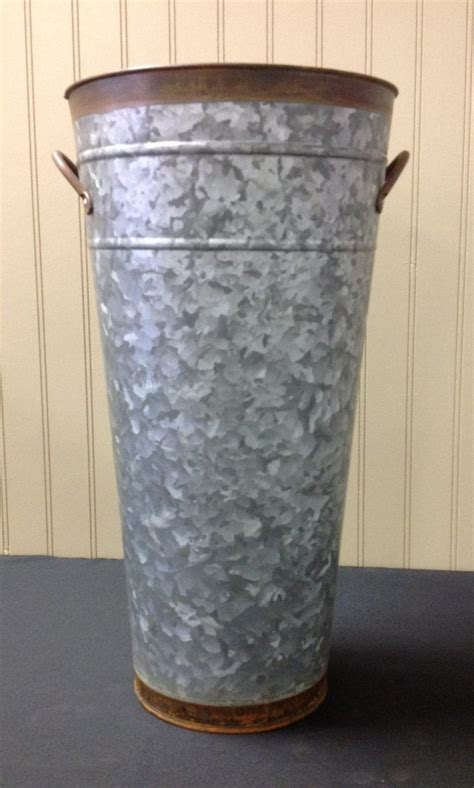Galvanized Vase by Galvanized Vase 18 Quot Premiere Events