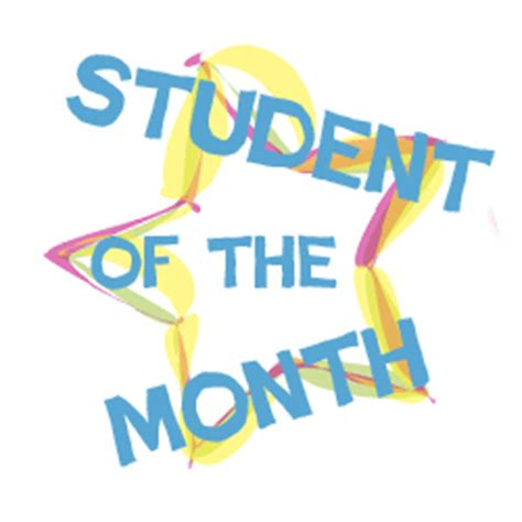 Image result for student of the month