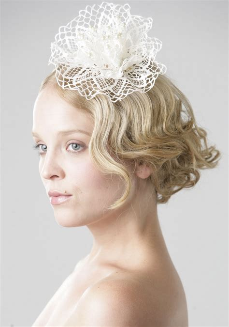 Wedding Hair With Fascinator by Wedding Hair With Fascinator Wedding Hair Flowers