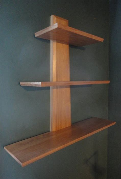plans  wood wall shelves