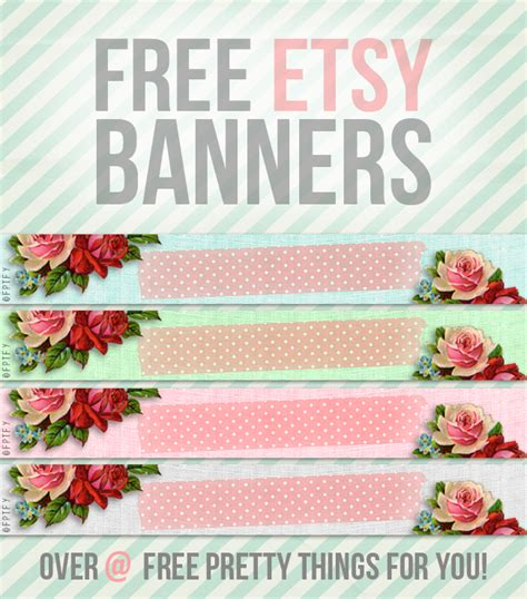 free etsy banner template free etsy banners