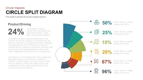 Circle Diagram Template by Circle Split Diagram Powerpoint And Keynote Template