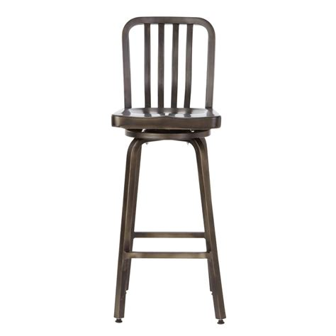 bar stools for home home decorators collection sandra 29 75 in gunmetal