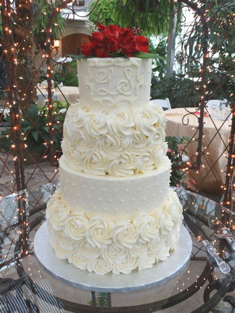 Wedding Cake Quilting by Quilting And Rosettes Wedding Cake Cakecentral