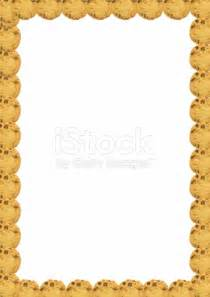 frame chocolate chip cookies page border photo spiderpic royalty free stock photos
