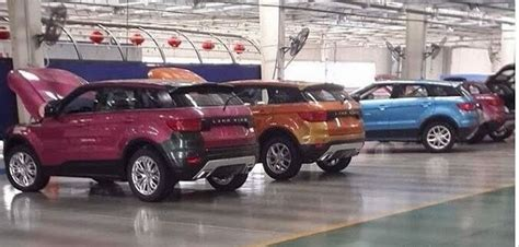 land wind interior landwind x7 range rover evoque copy begins production