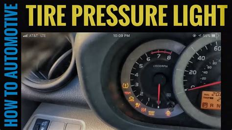 how to reset tire pressure light how to reset the tire pressure light on a toyota rav4 doovi