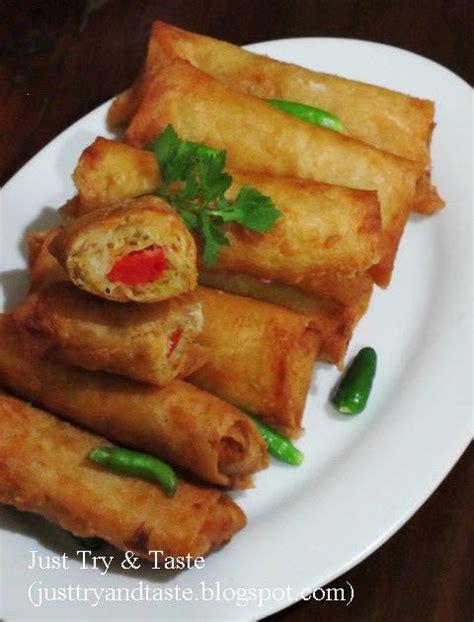 membuat risoles mudah resep risoles isi bihun sayuran sosis just try taste