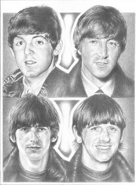 how is paul related to john black on days of our lives beatles original 18 quot x 24 quot sketch print beatles john