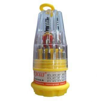 Jackly 33 In 1 Precision Screwdriver Professional Repai Diskon jackly 31 in 1 precision screwdriver professional repair tool kit jk 6036a jakartanotebook