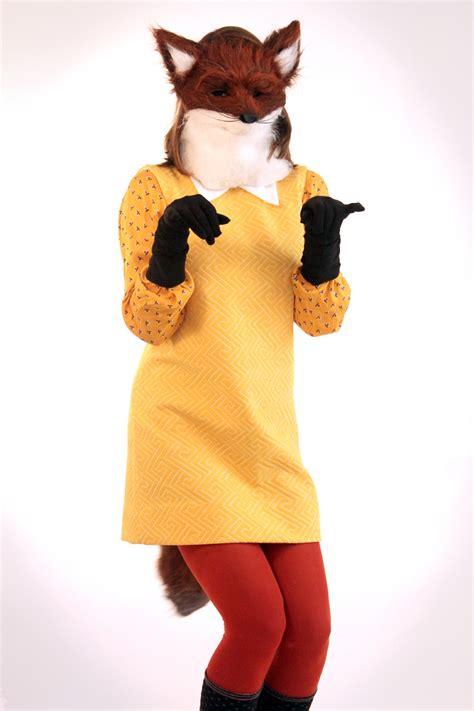 diy fox in socks costume fantastic fox on what i wore
