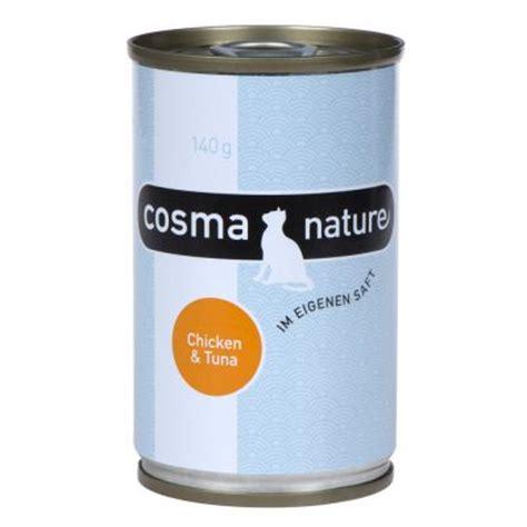 140 matratze günstig cosma nature sparpaket 12 x 140 g g 195 188 nstig bei zooplus