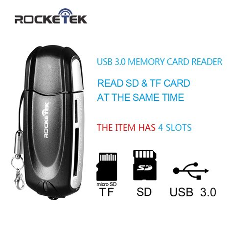 how to make a sd card readable aliexpress buy rocketek same time read 2 cards 4
