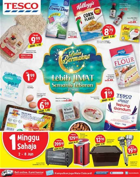 tesco malaysia new year promotion tesco weekly promotion catalogue hypermarket