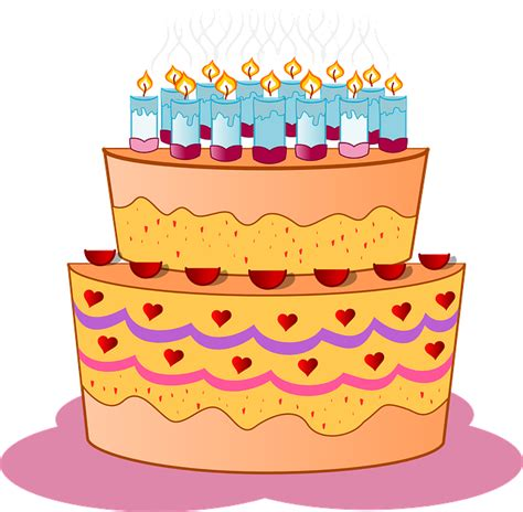 immagini candele compleanno immagine vettoriale gratis torta compleanno candele