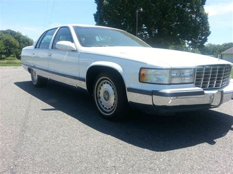 find used 1996 cadillac fleetwood brougham sedan 4 door 5 7l 1 owner excellent condition in find used 1996 cadillac fleetwood brougham sedan 4 door 5 7l in boonville north carolina