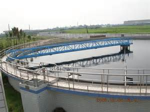 panoramio photo of wanglong wwtp secondary clarifier