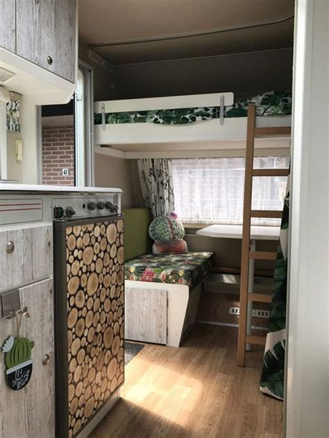 top vintage caravans interior makeover   budget