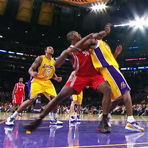 Bryant Suspended For Flying Again by Bryant Artest Derek Fisher Fouls Being Reviewed